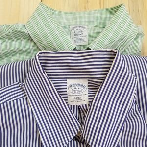 Brooks Brother Men's Dress Shirt Lot of 2 - 16 -33